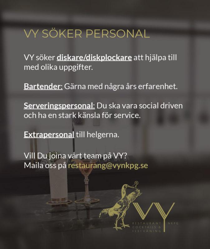jobb sommarjobb Norrköping VY